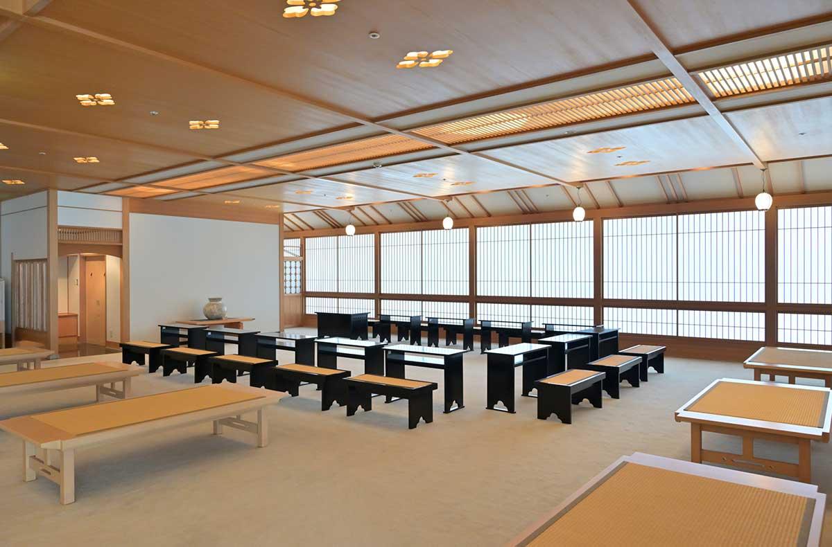 tea ceremony space